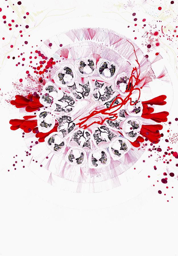 zeitgenössische Zeichnung, contemporary drawing, dessin contemporain, covid in art, art during pandemic, covid art,art during lockdown, El arte en tiempos de epidemia,l'Art Pendant la Pandémie, El arte en tiempos de epidemia, covid arte, kunst in der corona pandemie