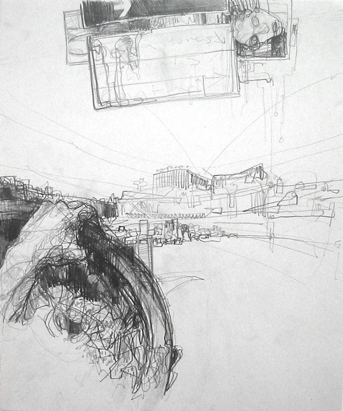 desenho contemporâneo, airports in art, maess anand, art at the airport,desenhos contemporâneos, desenho arte contemporânea,obras sobre a imigracao, Obras sobre la migracion